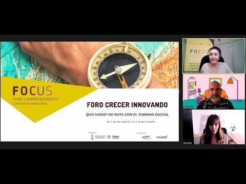 Marketing digital: estrategias para atraer al turismo - III Sesión Foro Crecer Innovando Creama[;;;][;;;]