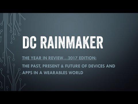 DC Rainmaker: 2017 Annual State of Sports Tech Keynote!