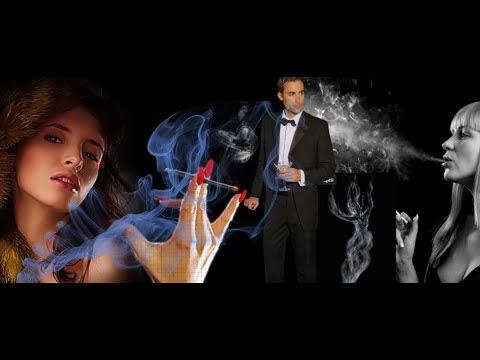 """Дым сигарет с ментолом. """"Ненси""""."""