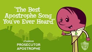 """Apostrophe song from Grammaropolis - """"The Best Apostrophe Song You've Ever Heard"""""""