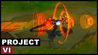 Project Vi Skin Spotlight  League Of Legends