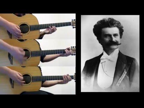 Johann Strauss II - Trisch Trasch Polka - Acoustic Guitar Orchestra