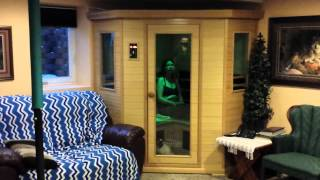 Charles Shows Off His Clearlight CE-C Infrared Sauna