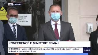 Drejtpërdrejt - Konferencë e ministrit Zemaj 07.07.2020