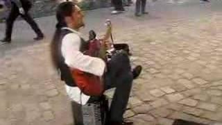 Paris Guitarist Video