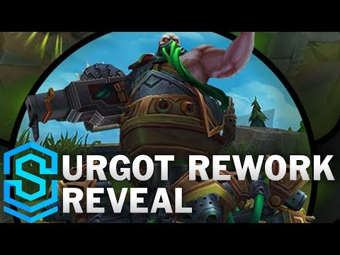Urgot Reveal – The Dreadnought | REWORK