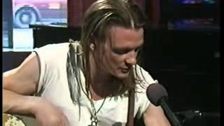 Chris Whitley on Much Music