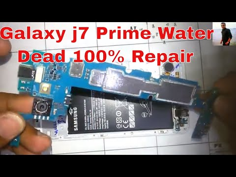 How To Samsung Galaxy J7 Prime Charging Port Replacement - Youtube