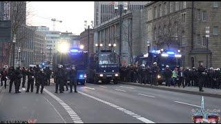 BLOCKUPY FRANKFURT 2015 - 220 VERLETZTE - 10000 POLIZISTEN [RANDALE - KRAWALLE - BRÄNDE]