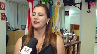Vereadora Soraya Michels assume presidência da Câmara (VÍDEO)