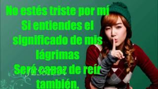 Girls Generation- Tears Sub Español