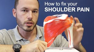 Understanding Shoulder Pain and How To Fix It