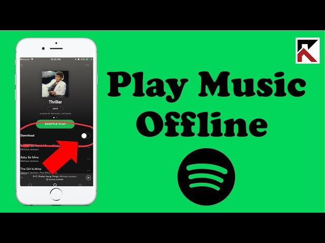How to use spotify premium offline