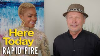 HERE TODAY - Billy Crystal & Tiffany Haddish Rapid Fire   Now On Blu-ray and Digital!