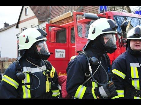 Bad Zwesten: Feuer in Mehrfamilienhaus