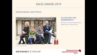 SALES AWARD 2019: Nominierte Buchhandlungen - Videointerviews