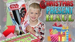 Michael's Christmas Presents!!