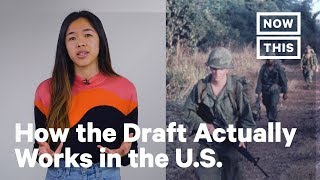 Here's How the Draft Actually Works in the U.S.   NowThis