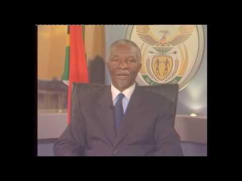 Former president Thabo Mbeki resignation speech