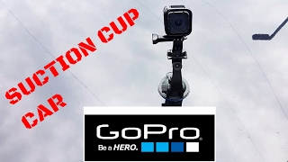 3 WAYS TO MOUNT A GOPRO TO A CAR - SUCTION CUP STYLE