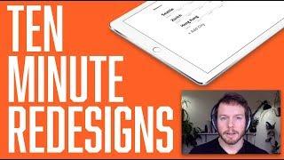 UI Tutorial: Redesigning the Timezon.es app (in 10 minutes)
