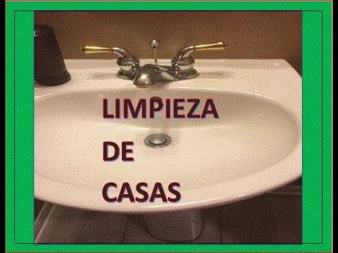 Tutorial Cómo Limpiar El Lavabo A Fondo смотреть онлайн на Hahlife