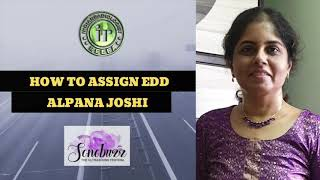 HOW TO ASSIGN EDD | DR ALPANA JOSHI | DATING SCAN | CORRECT ESTIMATION OF EDD | EARLY PREGNANCY SCAN