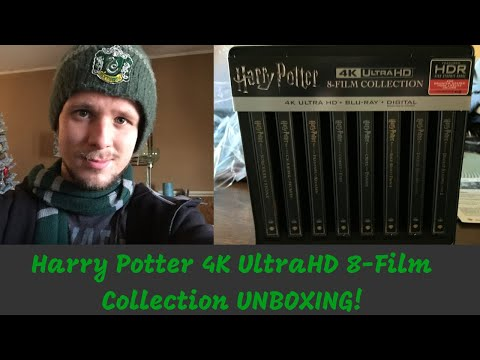 Harry Potter 4K 8 Film Collection - Blu-Ray Steelbook