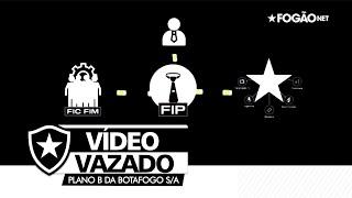 Botafogo S/A - Vídeo vazado mostra como funciona o novo projeto liderado por Gustavo Magalhães