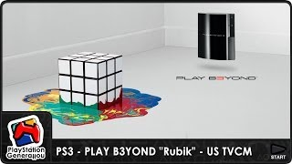 "PlayStation 3 - PLAY B3YOND ""Rubik"" - US TV Commercial (2006)"