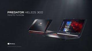 Ноутбук Acer Predator Helios 300 PH317-52-52PP від компанії CyberTech - відео