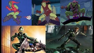 Green Goblin - Evolution in cartoons and movies