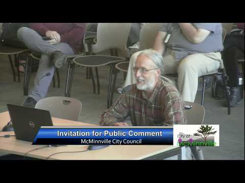 McMinnville City Council Meeting 5/14/19