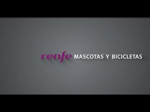 Renfe: Mascotas y bicicletas