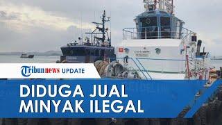 Kapal BUMN Milik Pelindo 'Kencing' di Tengah Laut, Diduga akan Jual Minyak Ilegal ke Singapura