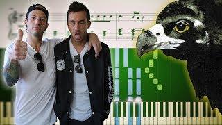 THE HYPE (Twenty One Pilots) - Piano Tutorial + SHEETS