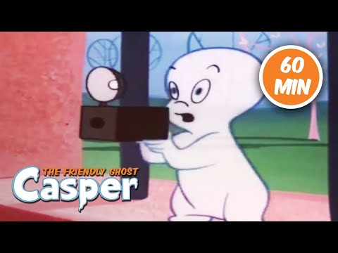 Casper Classics | 1 Hour Compilation | Casper the Ghost | Cartoons For Kids | Kids Movies