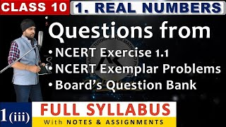 L 1 (Part 3) - Chapter 1 Real Numbers Class 10 Exercise 10.1