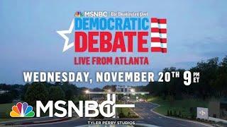 MSNBC, Washington Post Announce Location Of Next Democratic Debate | Hallie Jackson | MSNBC