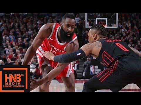 Houston Rockets vs Portland Trail Blazers Full Game Highlights / March 20 / 2017-18 NBA Season