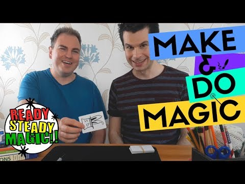 Rabbit from a Top Hat | Make & Do Magic | Ready Steady Magic