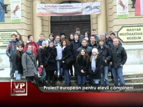 Proiect european pentru elevii câmpineni
