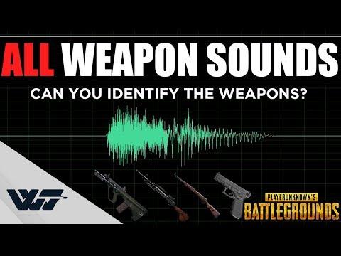 所有槍的槍聲 測試一下 你是否分辨得出來是哪把槍?