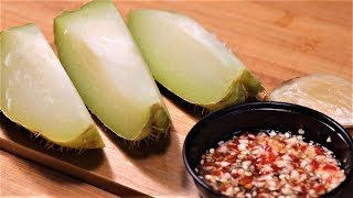 Village Style Chayote Snack