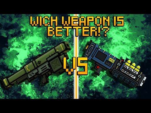 Pixel Gun 3D - Stinger VS Stinger 3000