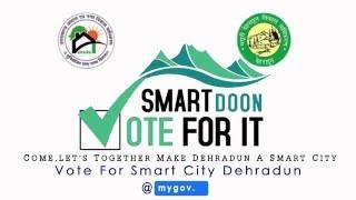 How to Vote for Smart City Dehradun
