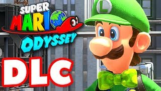 Super Mario Odyssey - Gameplay Walkthrough Part 37 - Luigi