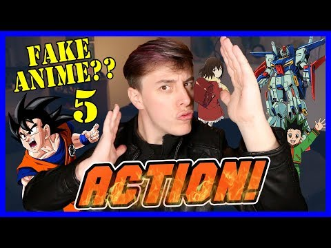 Real or FAKE ANIME?? Pt. 5 – ACTION/ADVENTURE EDITION! | Thomas Sanders