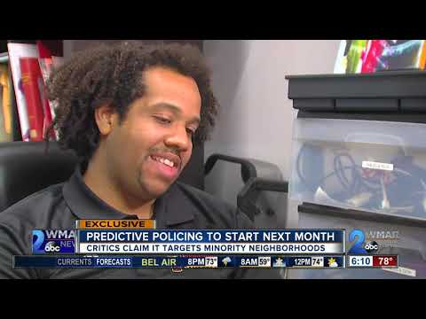 Baltimore police trying to stop crime before it happens