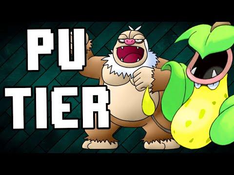 Pokemon Showdown - PU Tier | Z Move Victreebel and Slaking